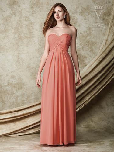Color Amalia Bridesmaid Dresses - Style - M1505