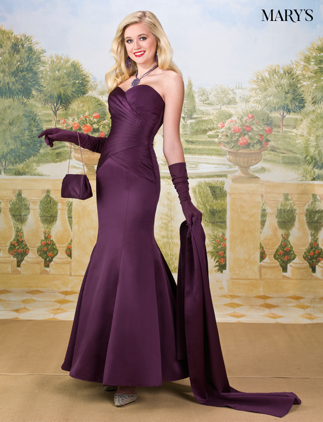 Lavender Color Amalia Bridesmaid Dresses - Style - M1660