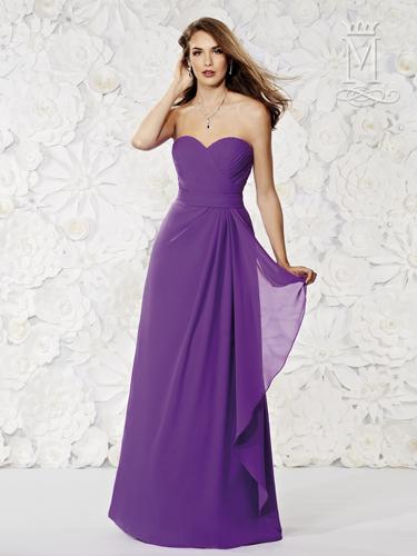 Color Amalia Bridesmaid Dresses - Style - M1800