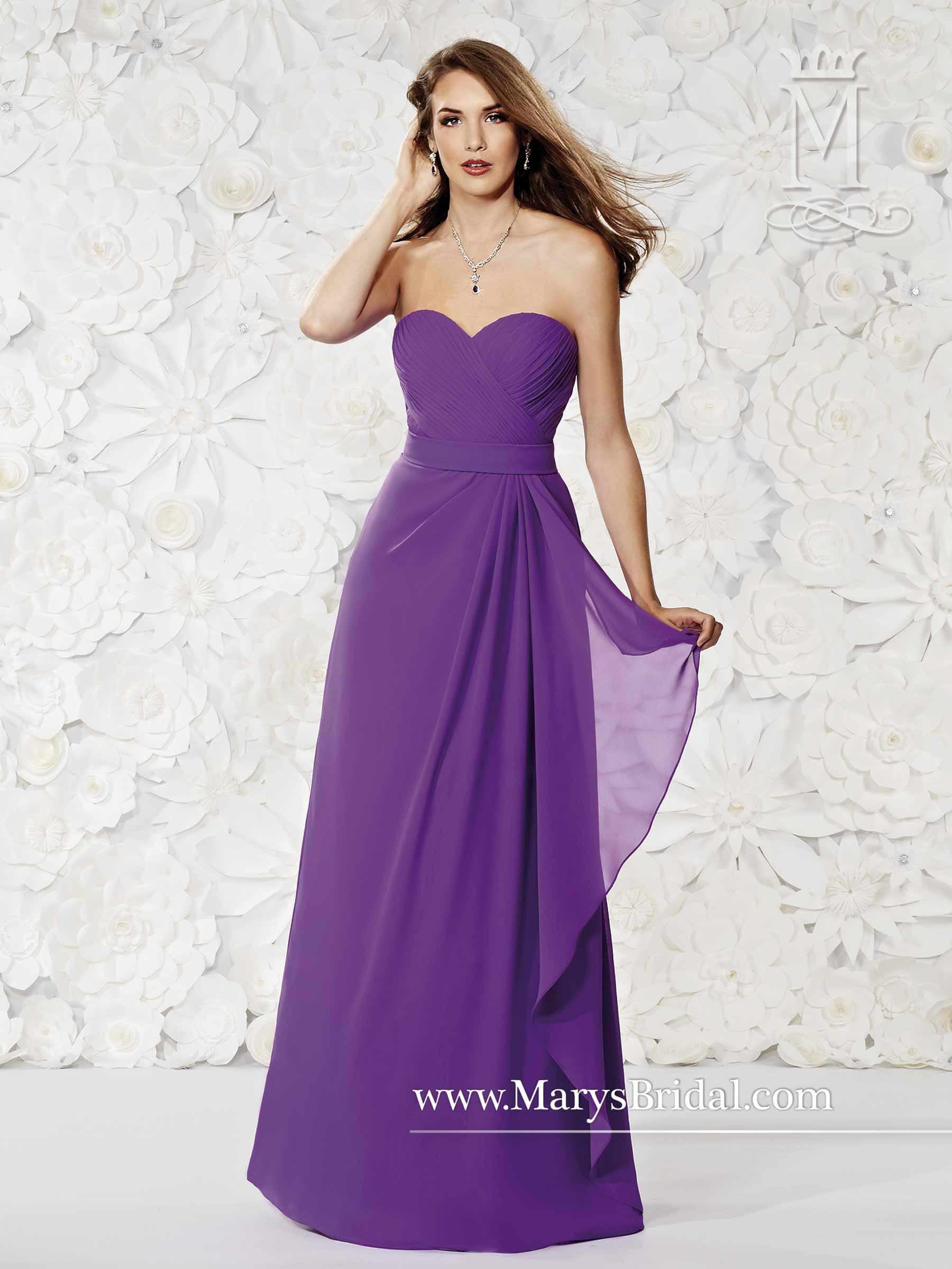 Amalia Bridesmaid Dresses | Style - M1800 in Shown in Regal Color