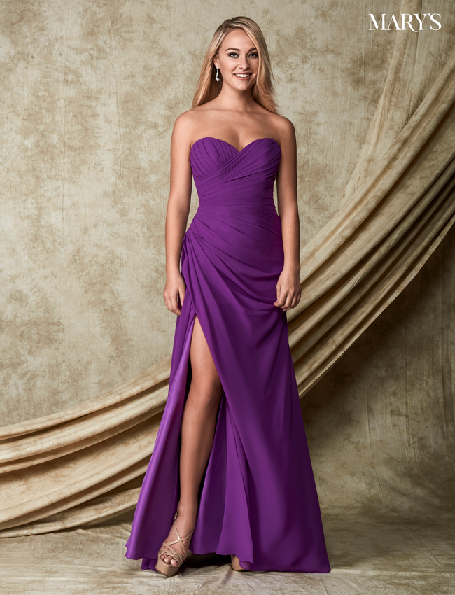 Color Amalia Bridesmaid Dresses - Style - M1826