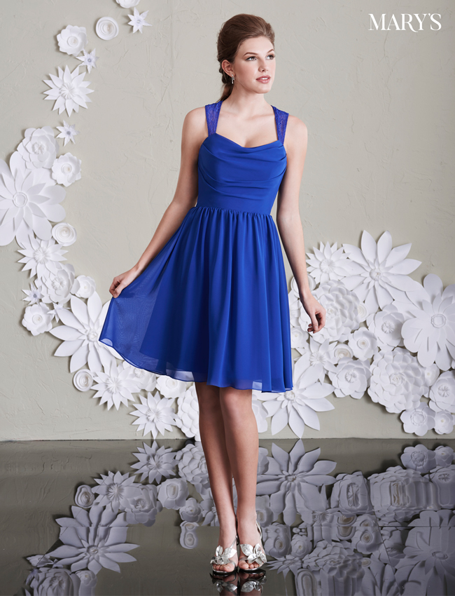 Color Amalia Bridesmaid Dresses - Style - M1985