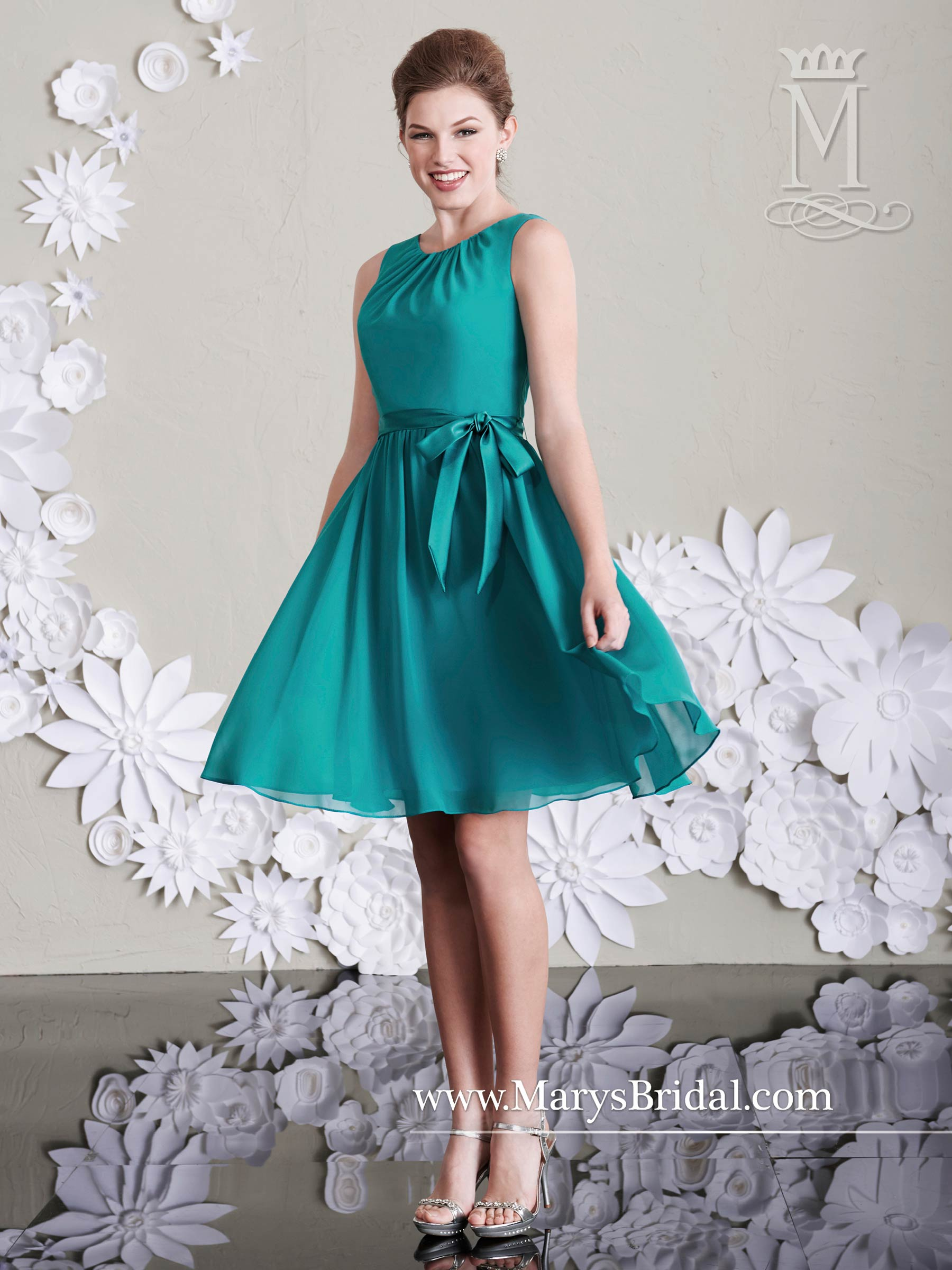 Amalia Bridesmaid Dresses | Style - M1986 in Shown in Teal, Canary ...