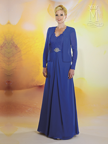 Color Mother Of The Bride Dresses - Style - M2473