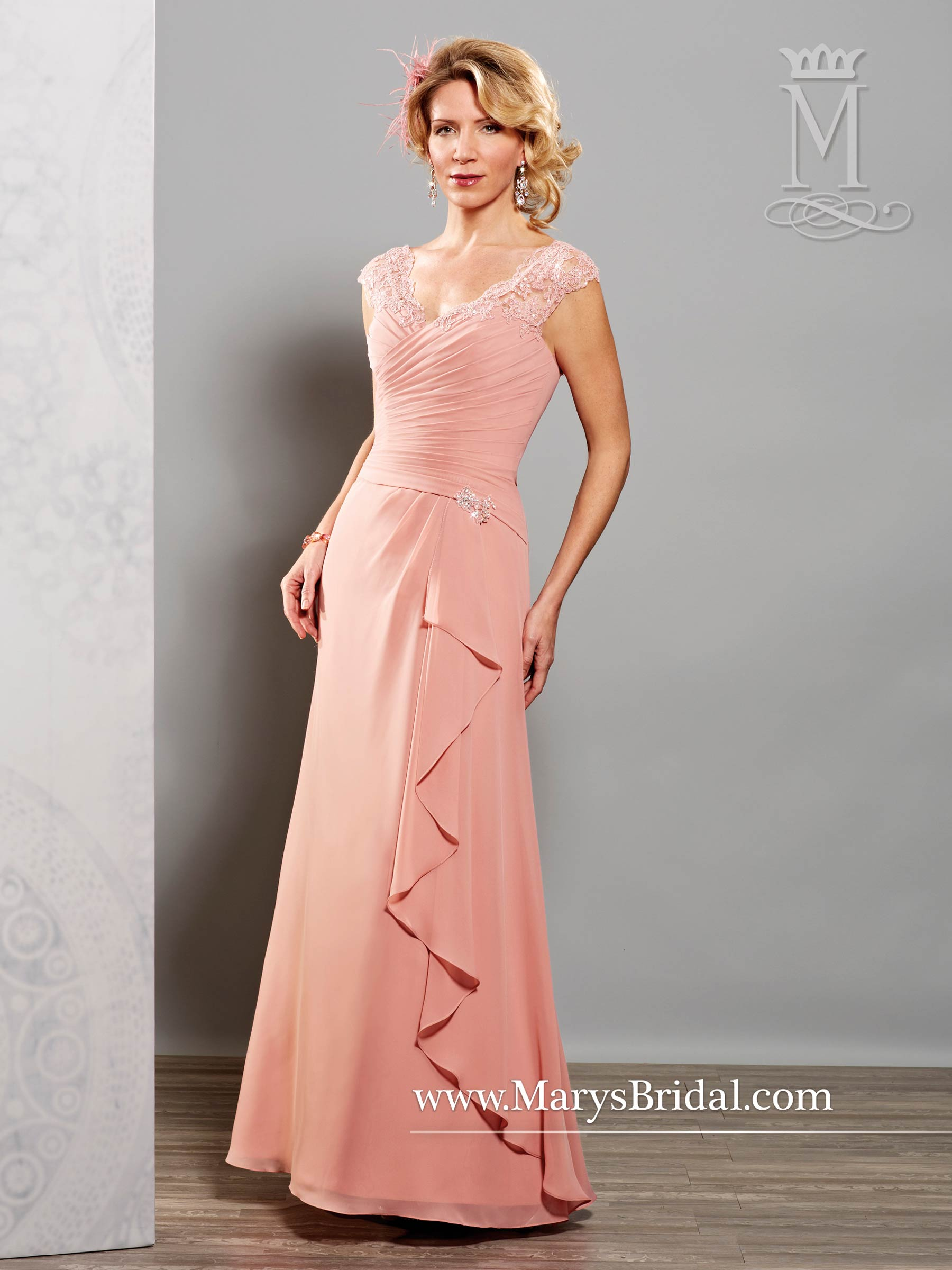 Rose Mother of the Bride Dress