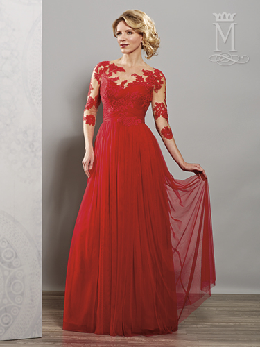 Color Mother Of The Bride Dresses - Style - M2705