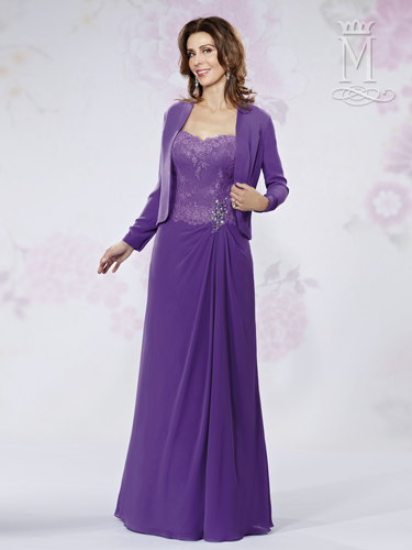 Pansy Color Mother Of The Bride Dresses - Style - M2722