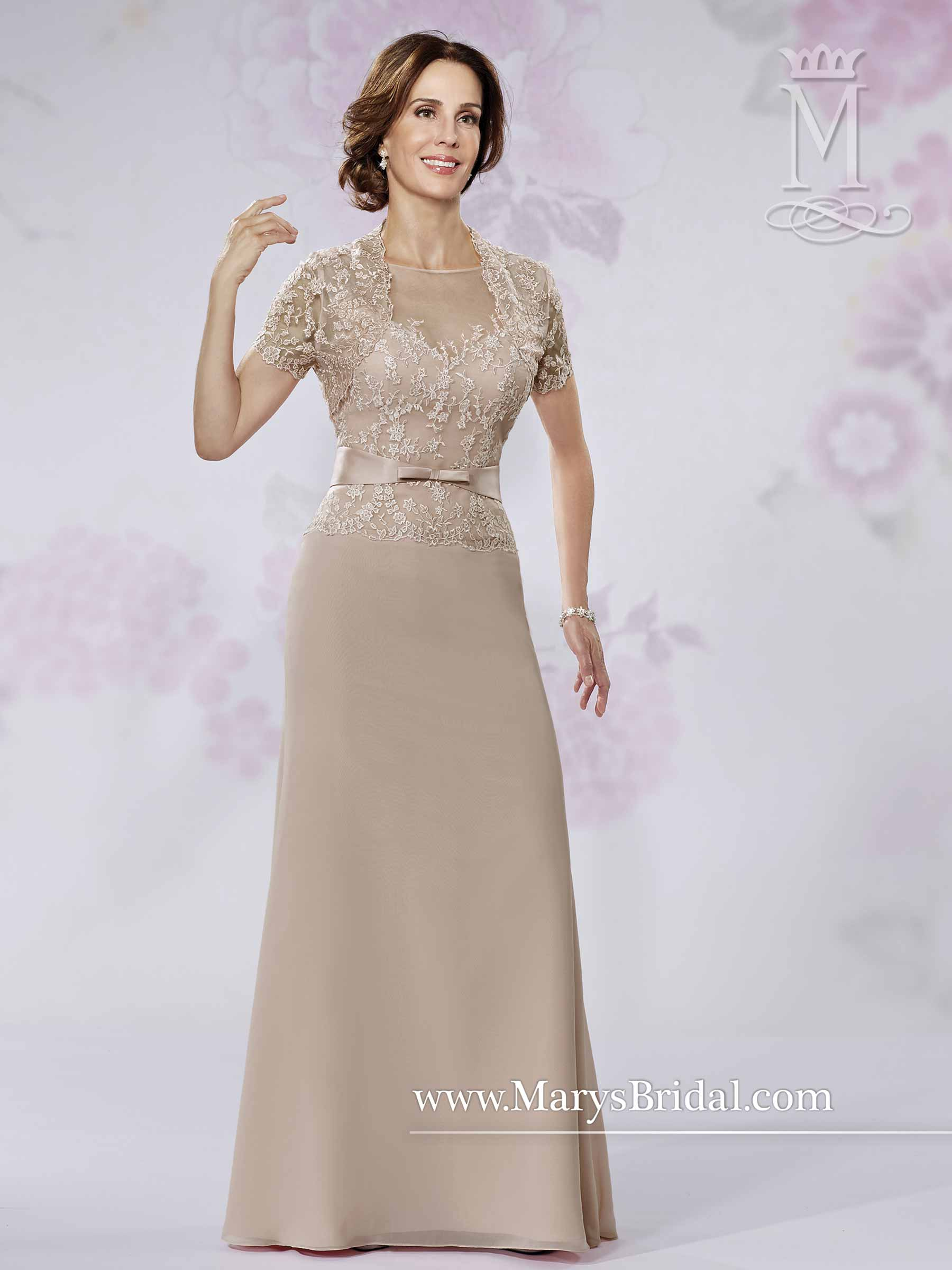 Mother Of The Bride Dresses | Style - M2725 in Shown in Mocha ...