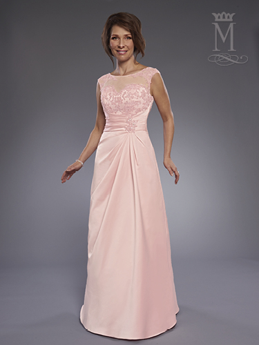 Pink Color Mother Of The Bride Dresses - Style - M2740