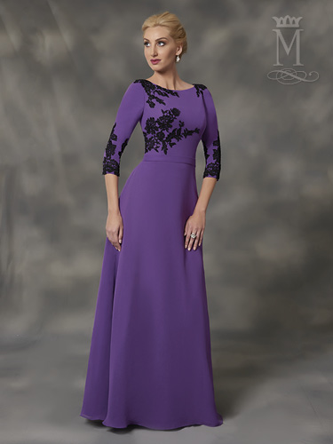Color Mother Of The Bride Dresses - Style - M2769