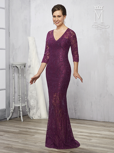 Color Mother Of The Bride Dresses - Style - M2787