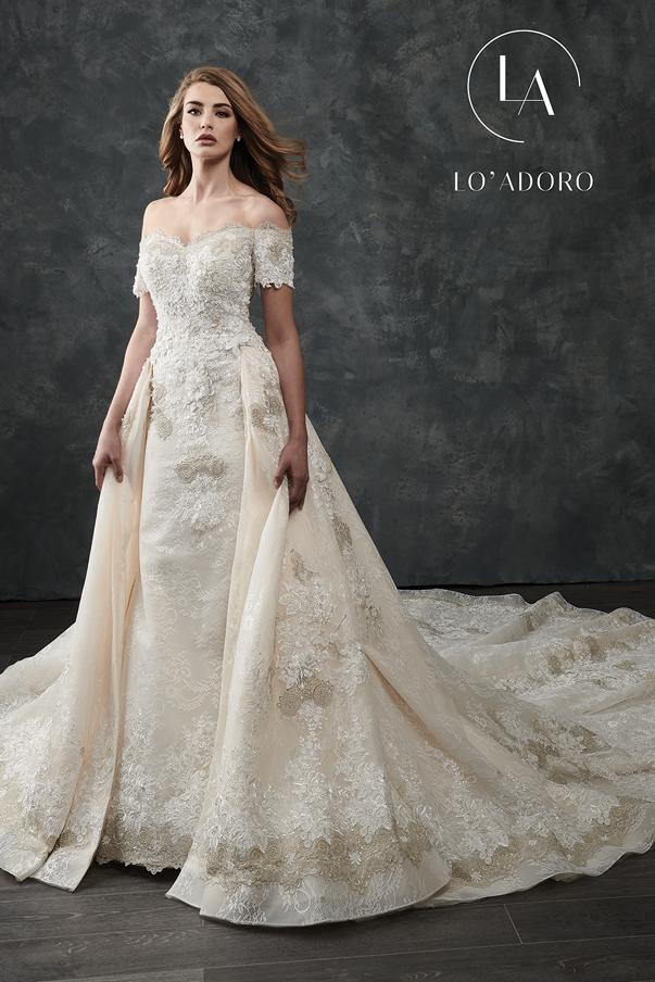 Color Lo Adoro Bridal Dresses - Style - M669