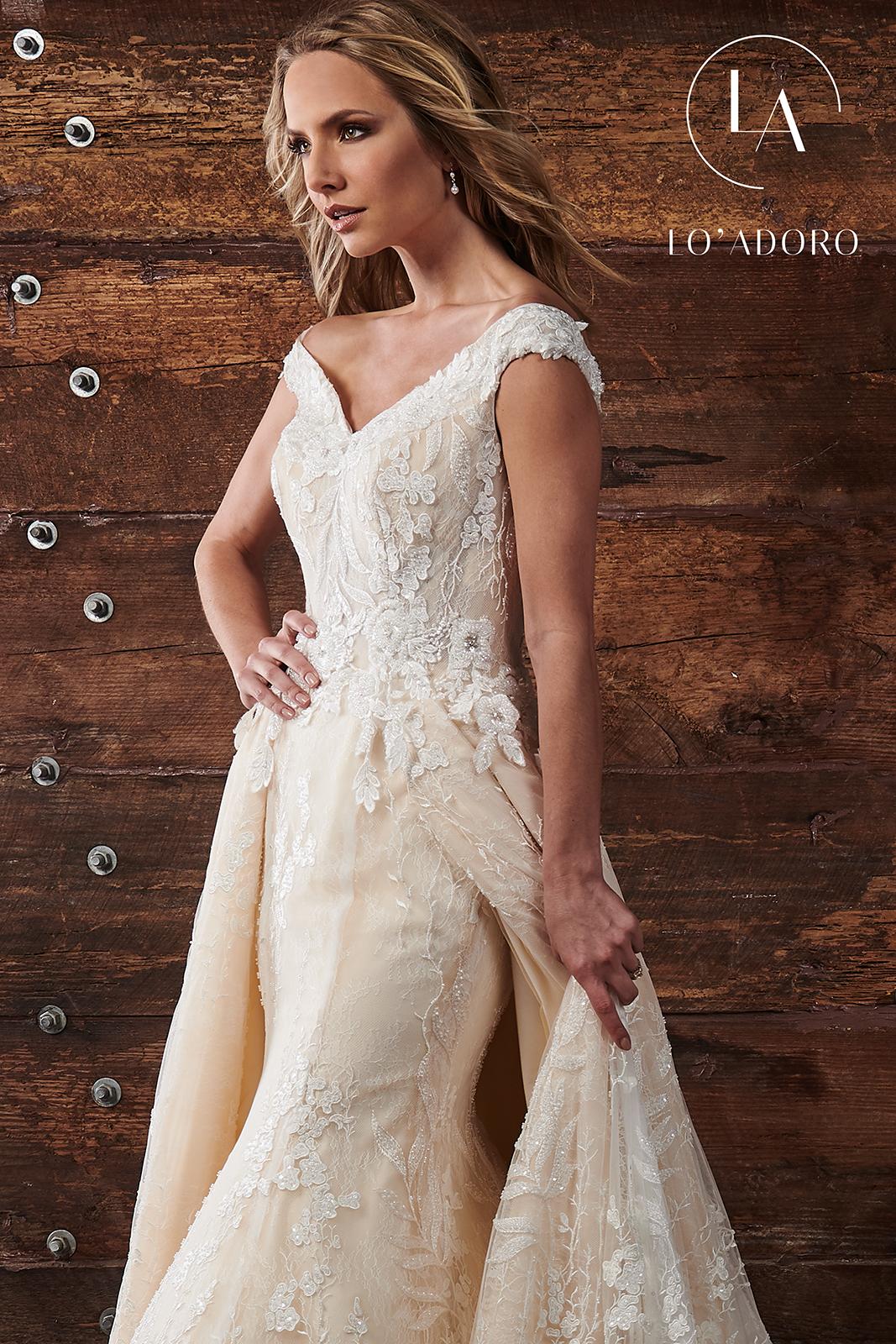 Lo Adoro Bridal Dresses | Lo' Adoro | Style - M678