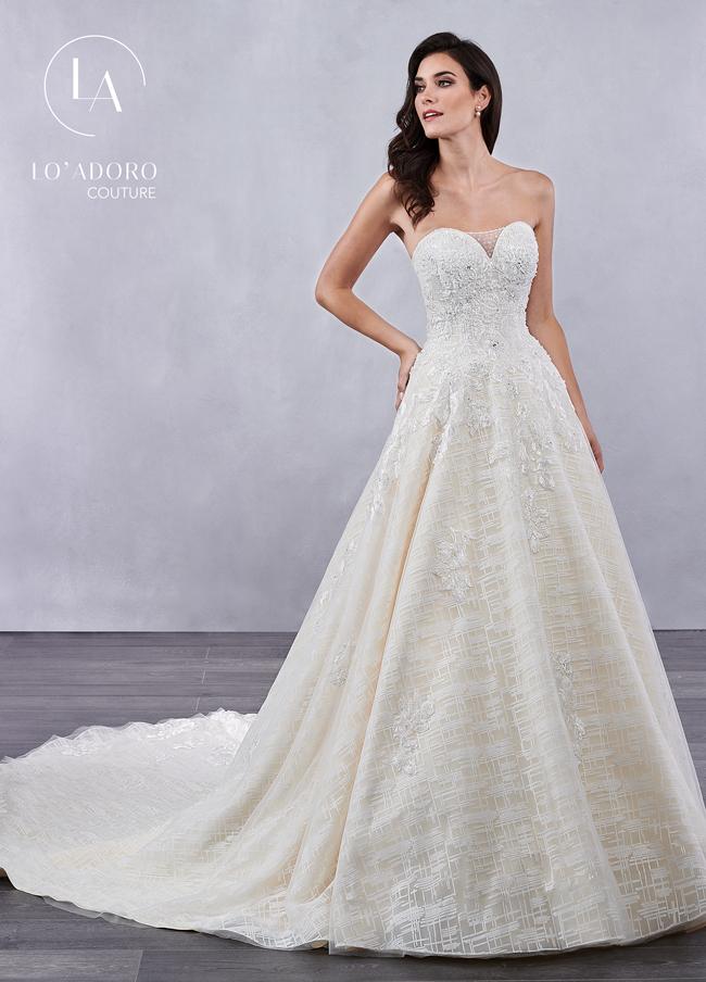 Color Lo Adoro Bridal Dresses - Style - M715
