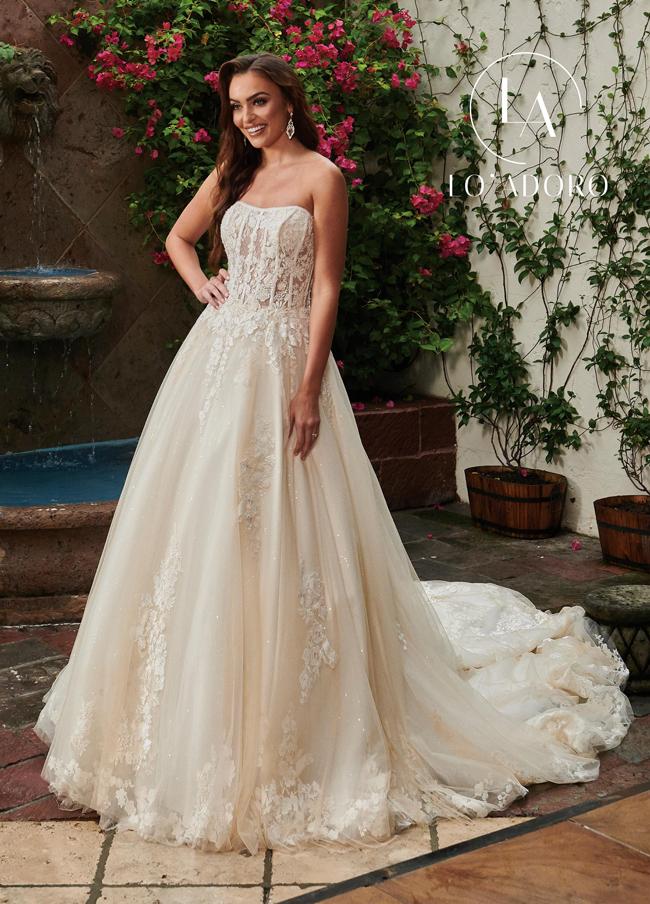Color Lo Adoro Bridal Dresses - Style - M752