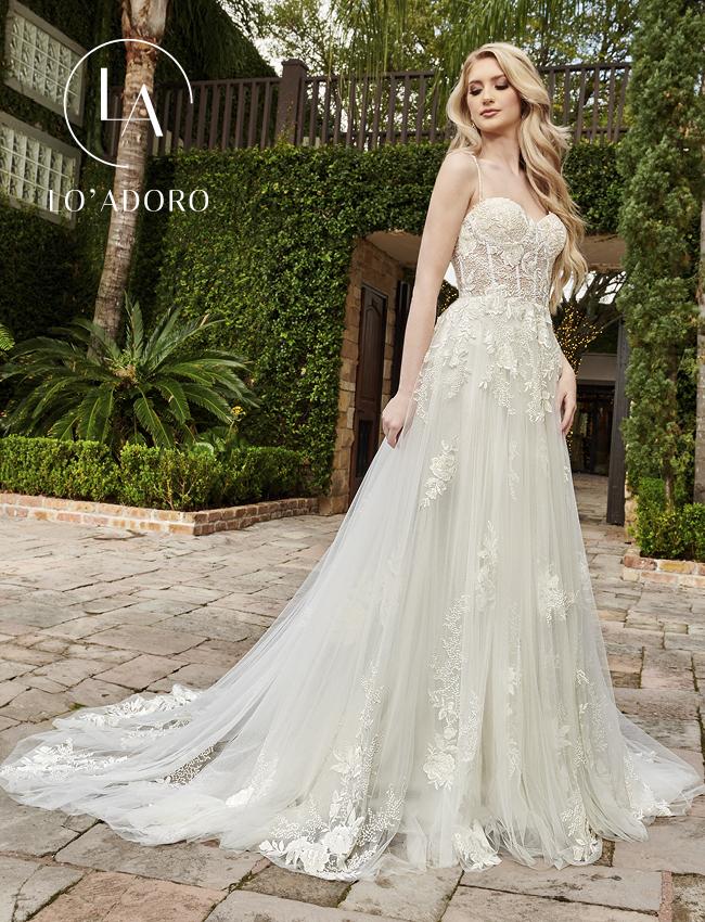 Color Lo Adoro Bridal Dresses - Style - M787