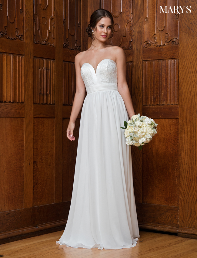 Color Bridal Wedding Dresses - Style - MB1002
