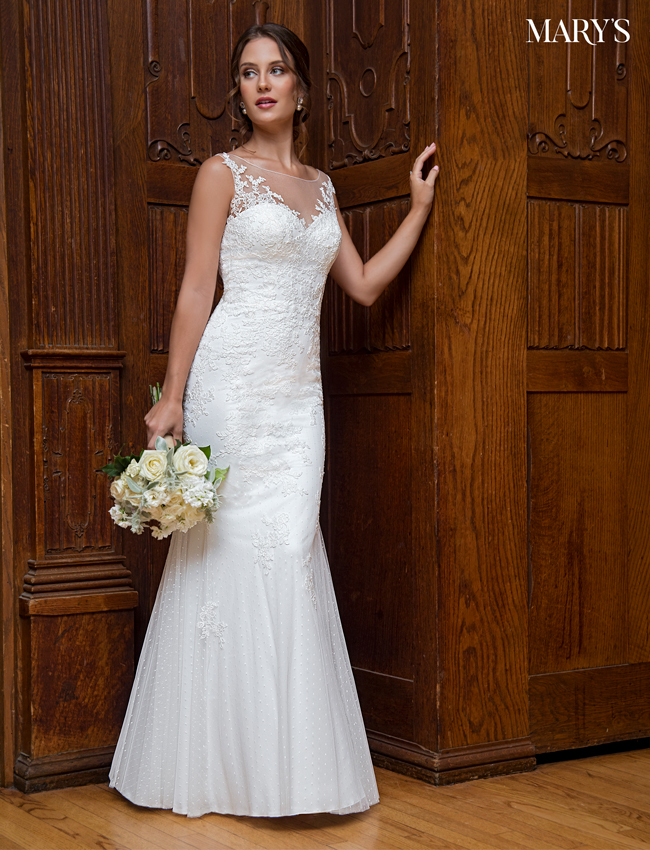 Color Bridal Wedding Dresses - Style - MB1004