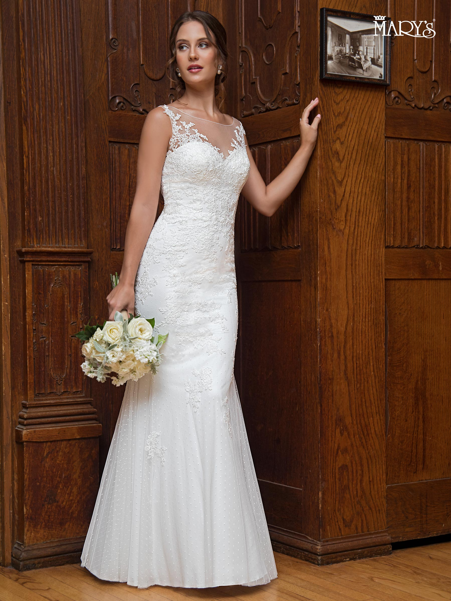 Bridal Wedding Dresses | Mary's | Style - MB1004