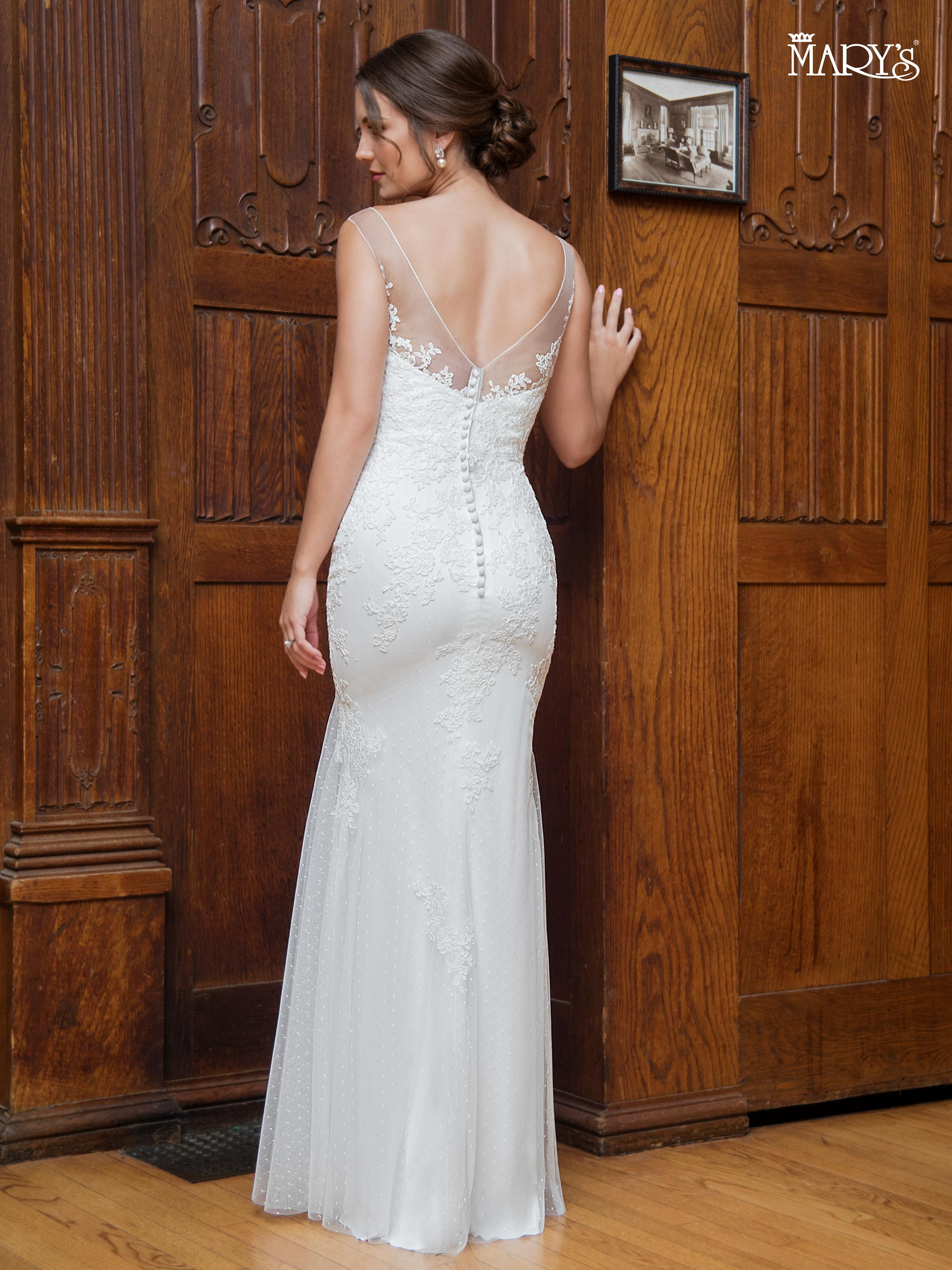 Bridal Wedding Dresses Style Mb1004 In Ivory Or White