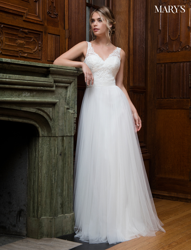 Color Bridal Wedding Dresses - Style - MB1008
