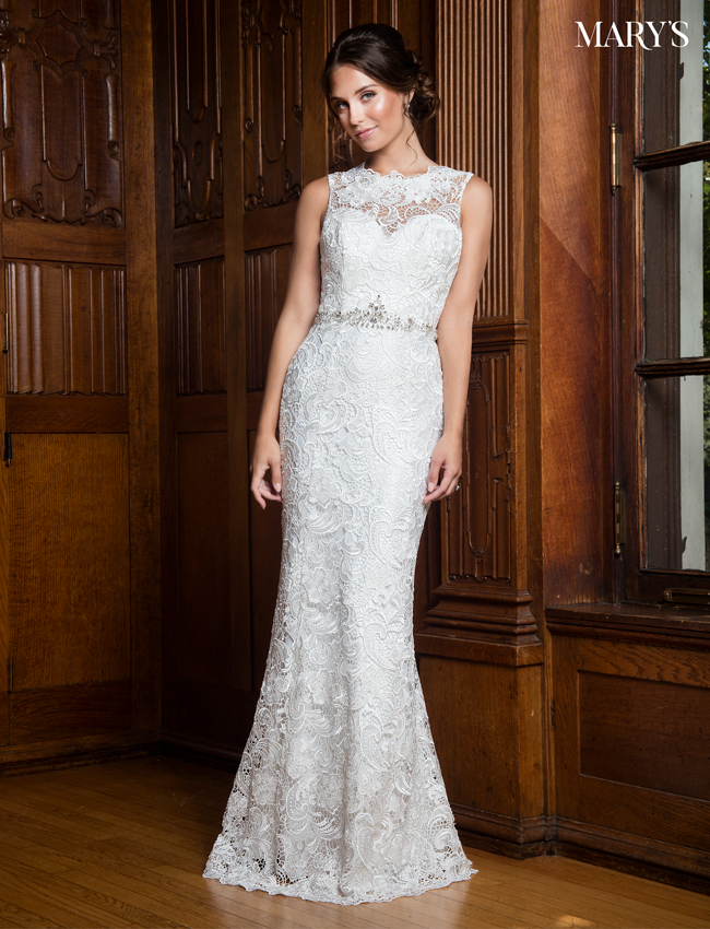 Color Bridal Wedding Dresses - Style - MB1012