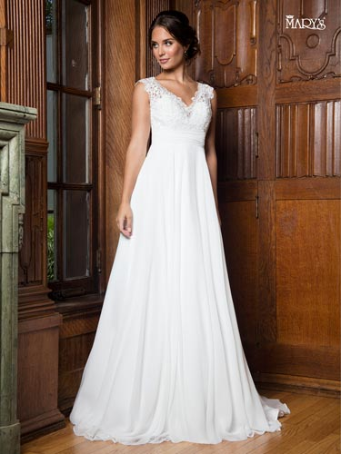 Color Bridal Wedding Dresses - Style - MB1014