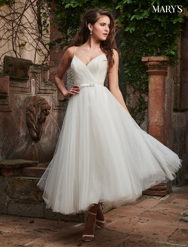 Color Bridal Wedding Dresses - Style - MB1015