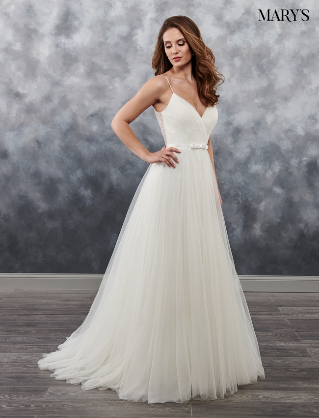 Ivory Color Bridal Wedding Dresses - Style - MB1016