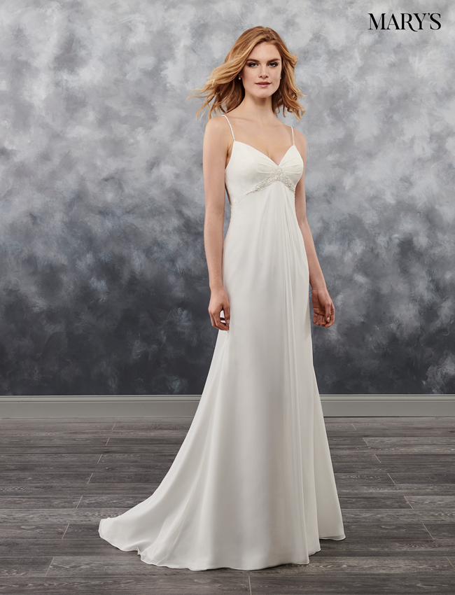 Ivory Color Bridal Wedding Dresses - Style - MB1017