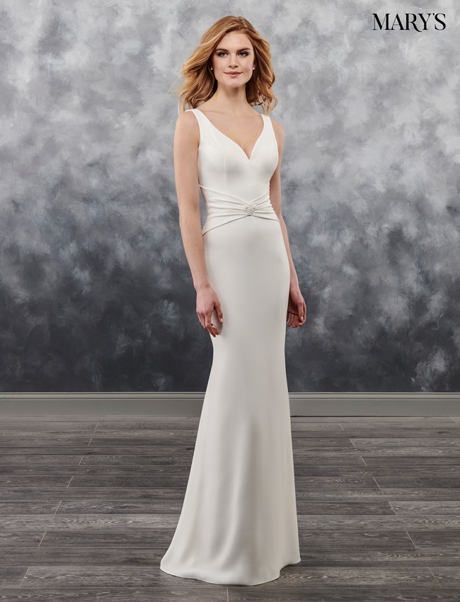 Ivory Color Bridal Wedding Dresses - Style - MB1021
