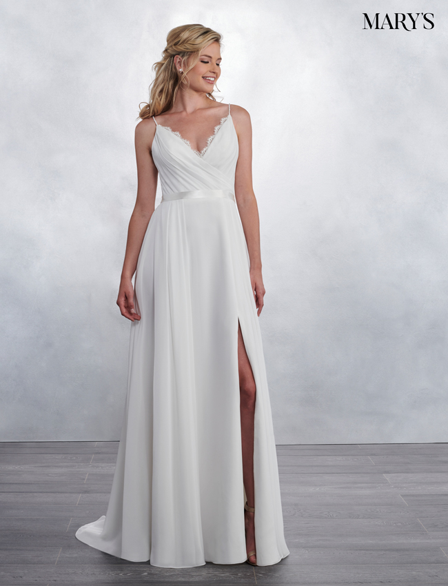Ivory Color Bridal Wedding Dresses - Style - MB1025