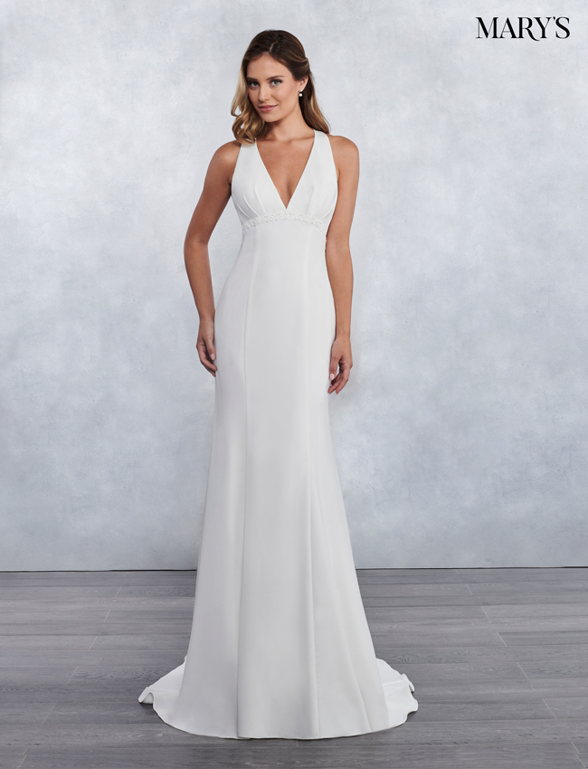 Ivory Color Bridal Wedding Dresses - Style - MB1026