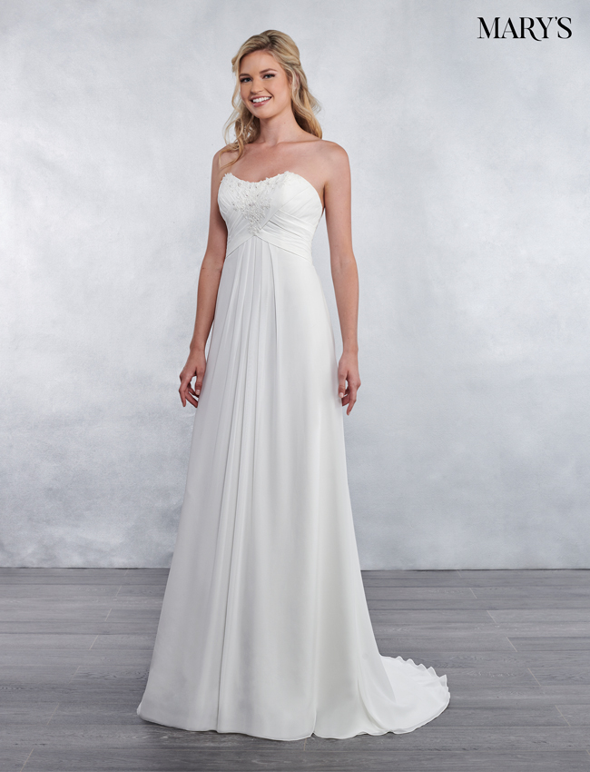 Color Bridal Wedding Dresses - Style - MB1027
