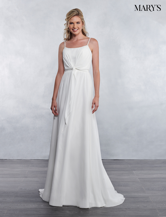 Ivory Color Bridal Wedding Dresses - Style - MB1029