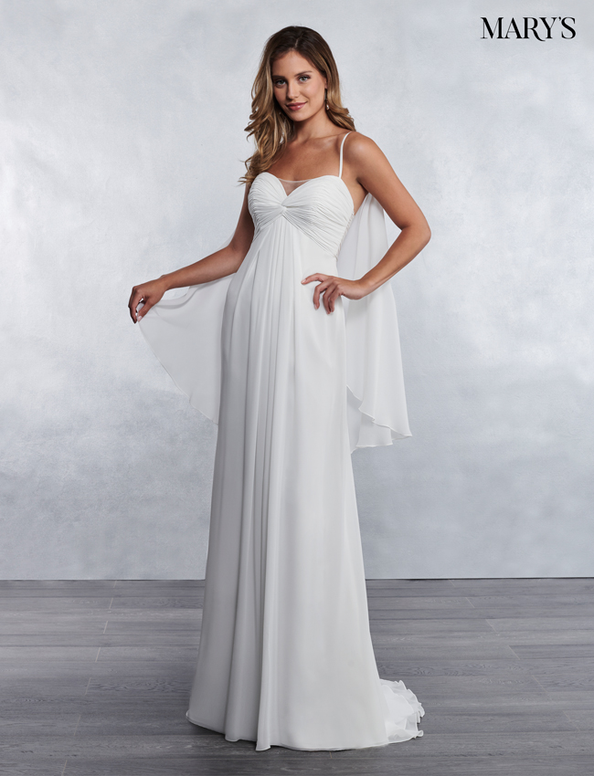 Ivory Color Bridal Wedding Dresses - Style - MB1032