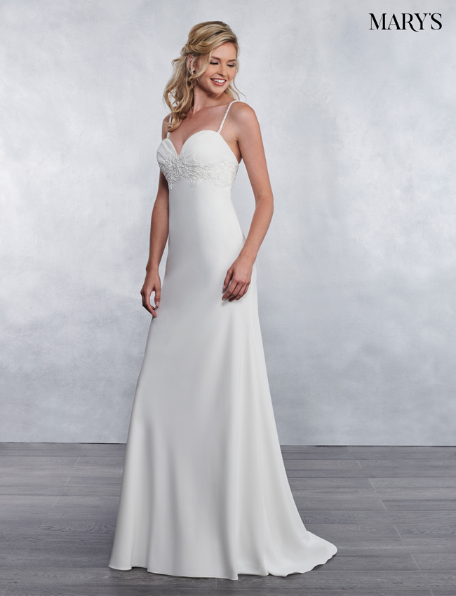 Ivory Color Bridal Wedding Dresses - Style - MB1033