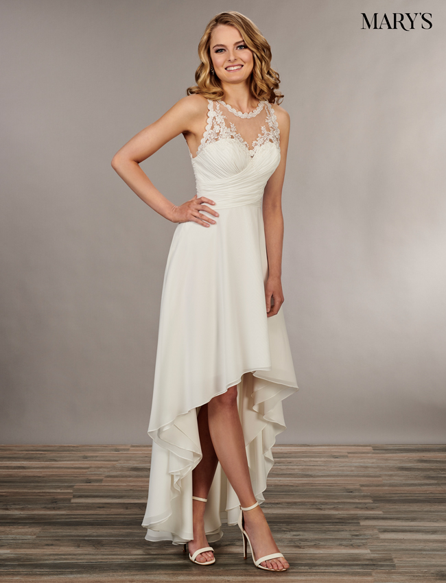 Ivory Color Bridal Wedding Dresses - Style - MB1037