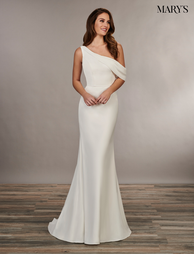Ivory Color Bridal Wedding Dresses - Style - MB1042