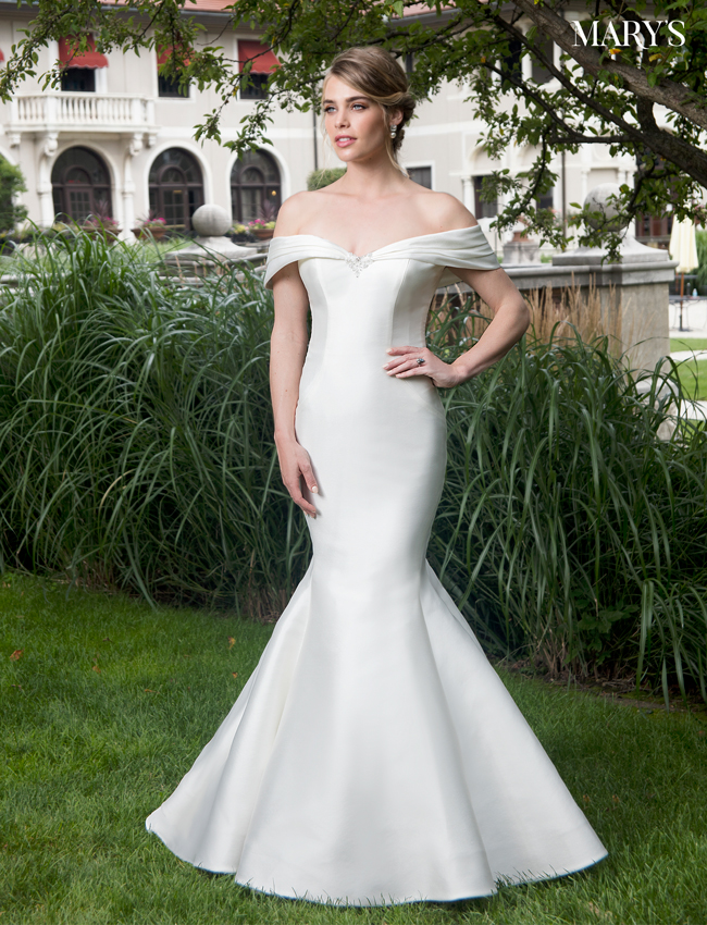 Ivory Color Bridal Dresses - Style - MB2001