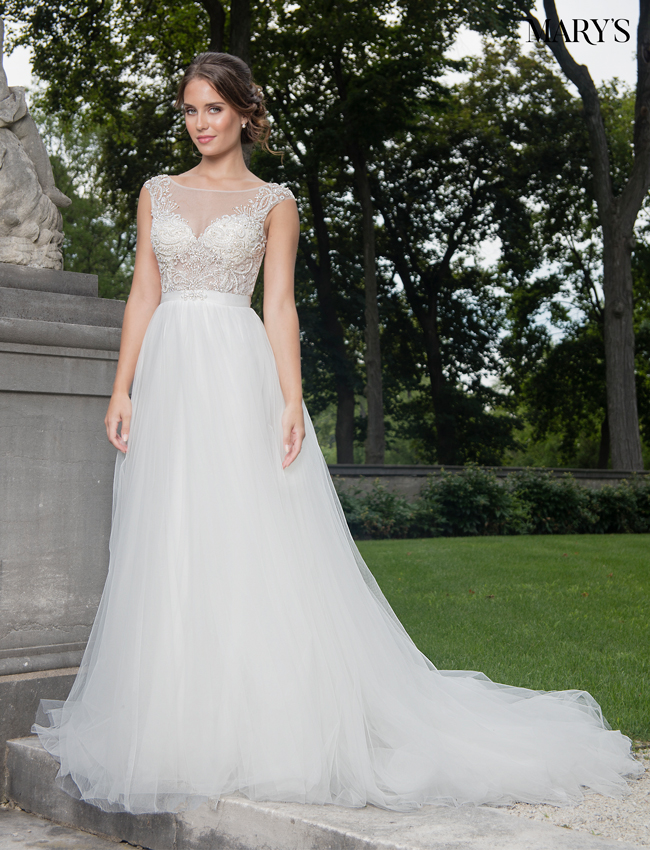 Color Bridal Dresses - Style - MB2002
