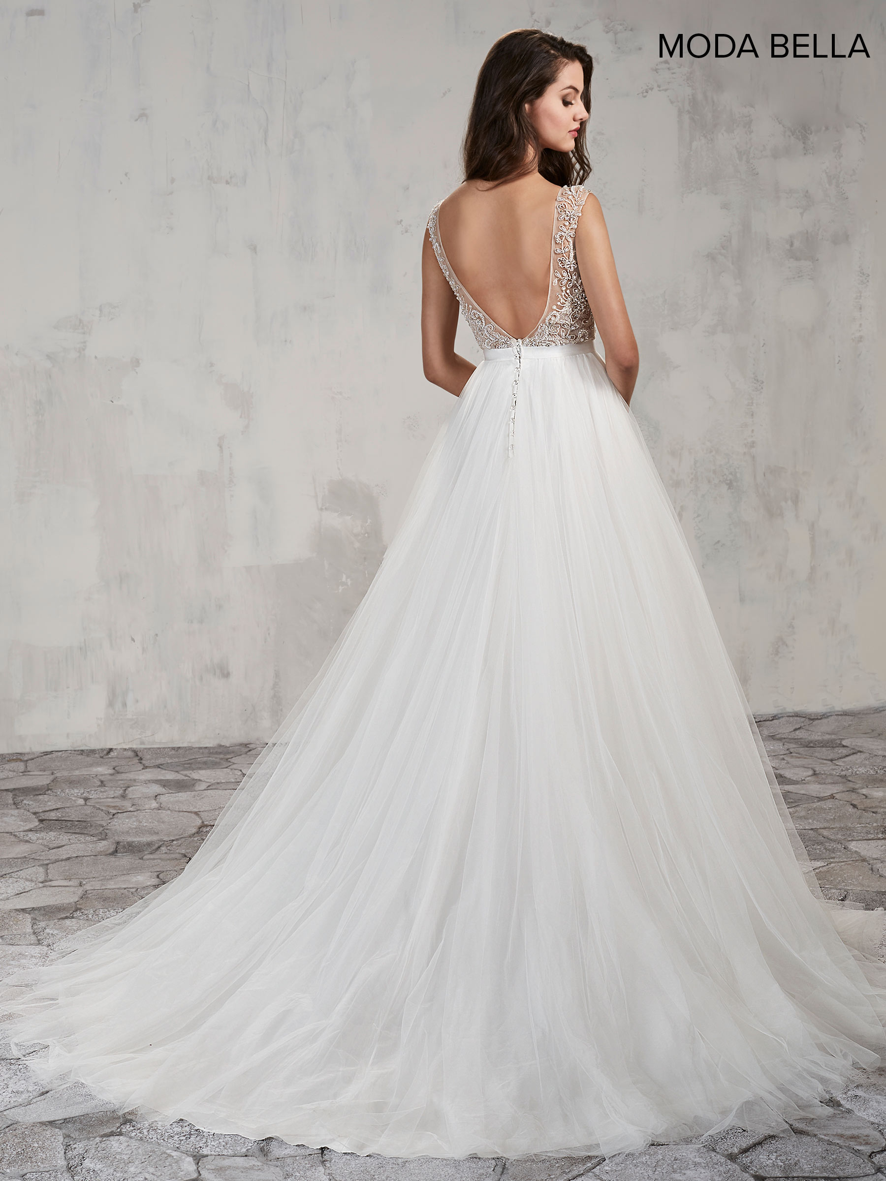 Bridal Dresses | Moda Bella | Style - MB2002