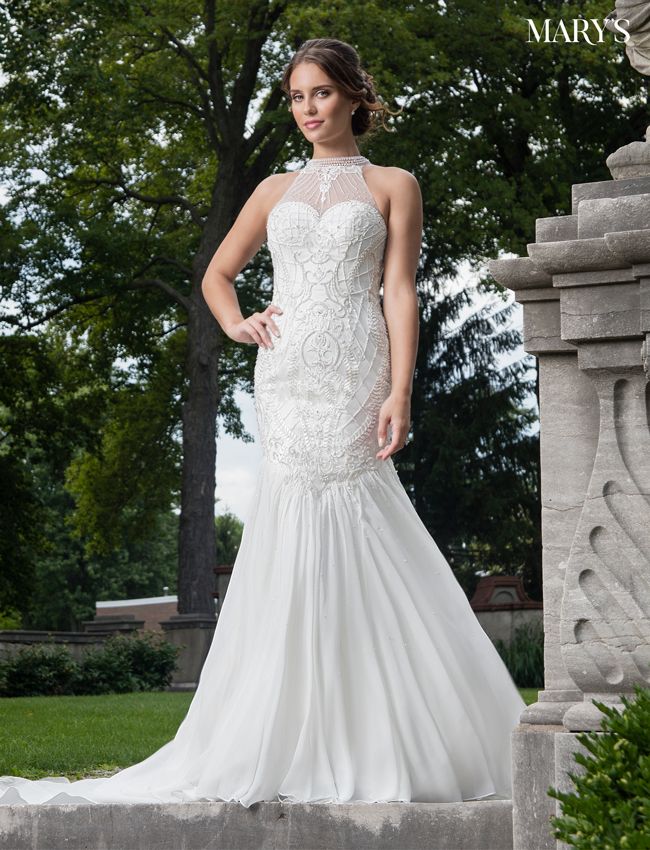 Color Bridal Dresses - Style - MB2005