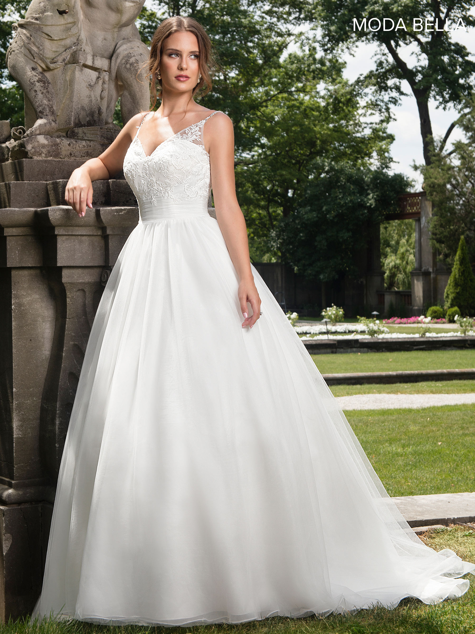 simple ivory wedding dresses bridal dresses style mb2006 in ivory or white color 7487