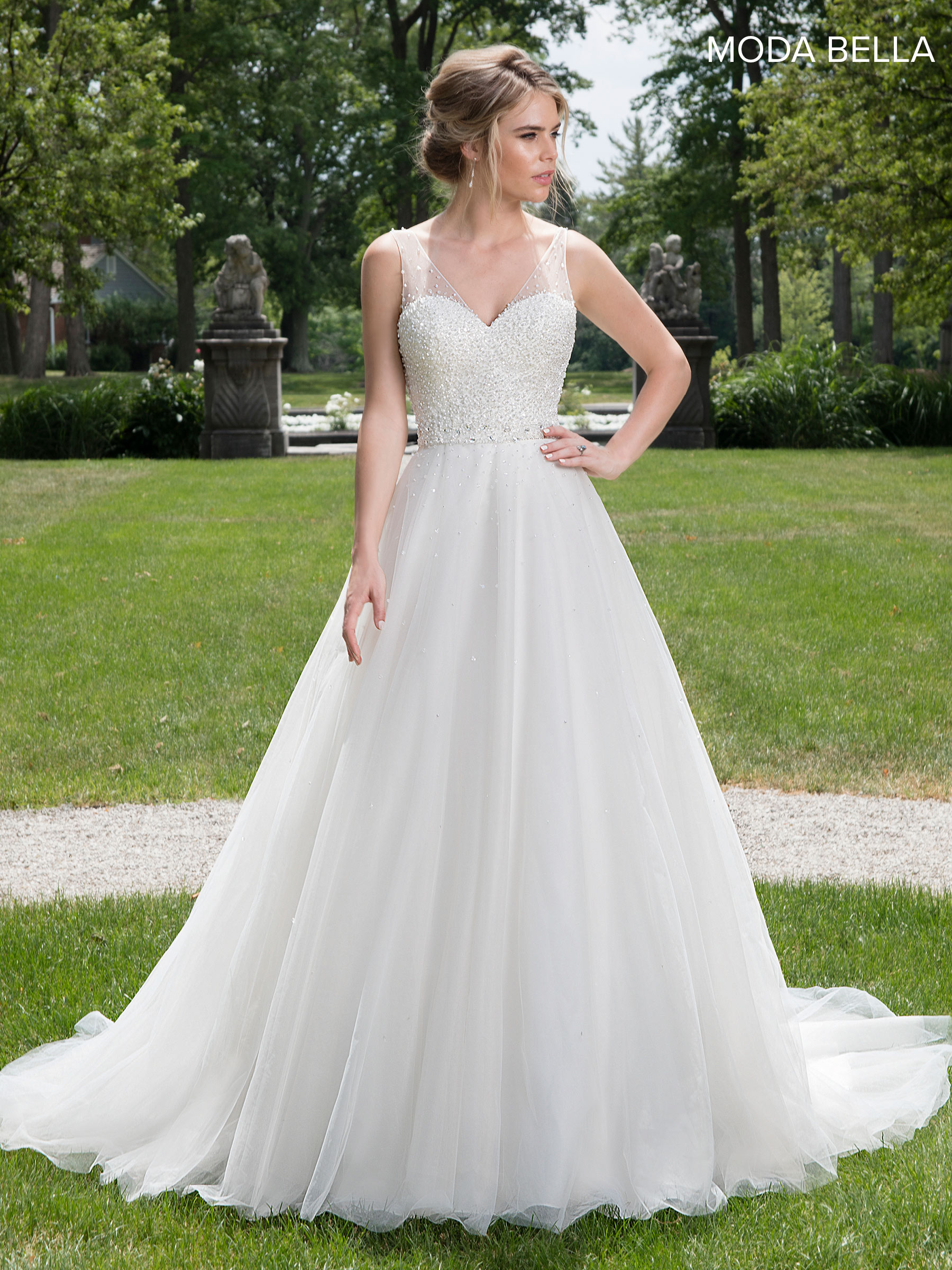 Bridal Dresses | Moda Bella | Style - MB2013