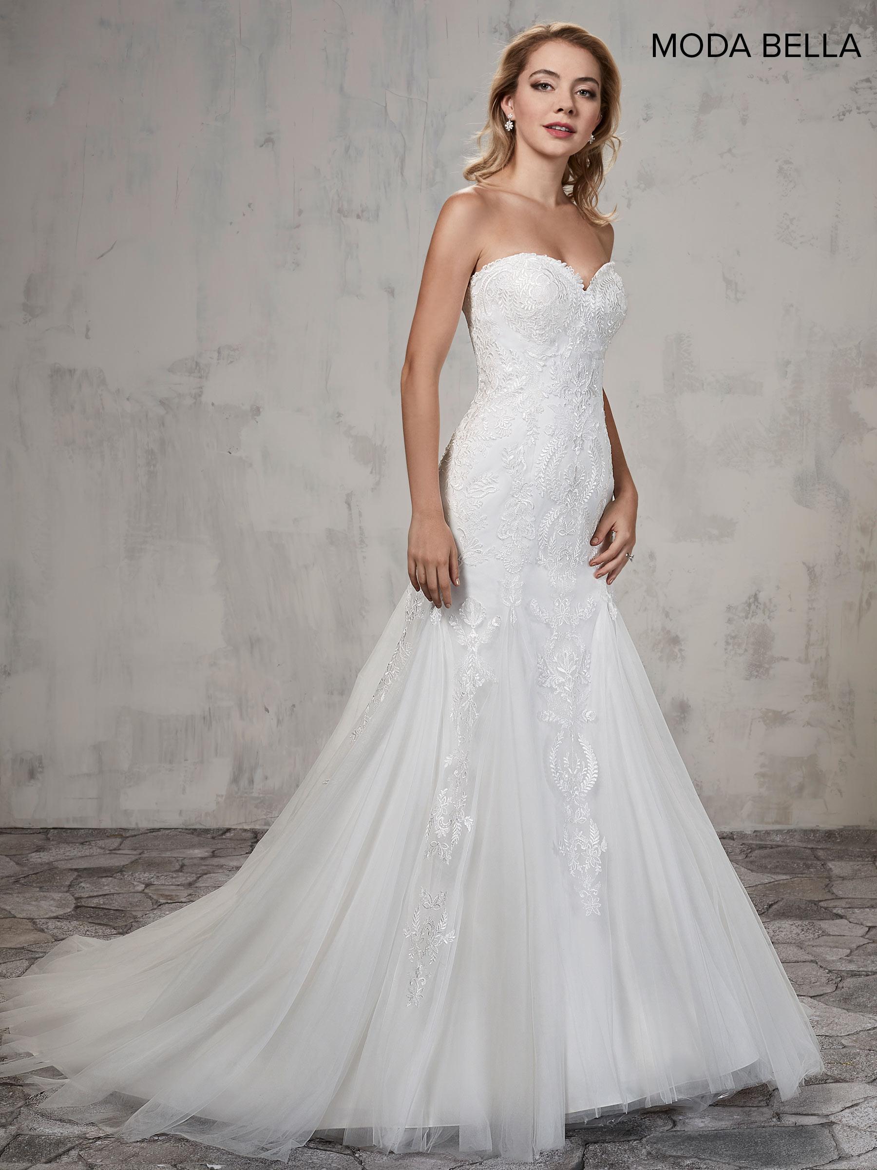 Bridal Dresses | Moda Bella | Style - MB2014