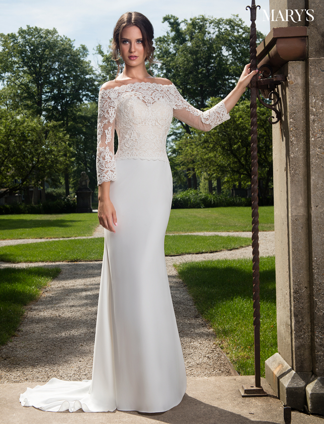 Color Bridal Dresses - Style - MB2017