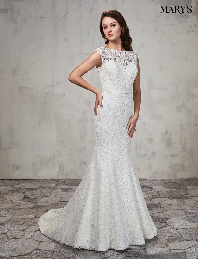 Ivory Color Bridal Dresses - Style - MB2021