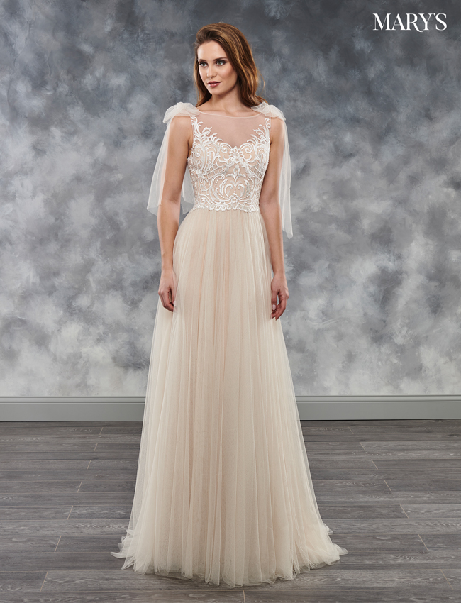 Champagne Color Bridal Dresses - Style - MB2022