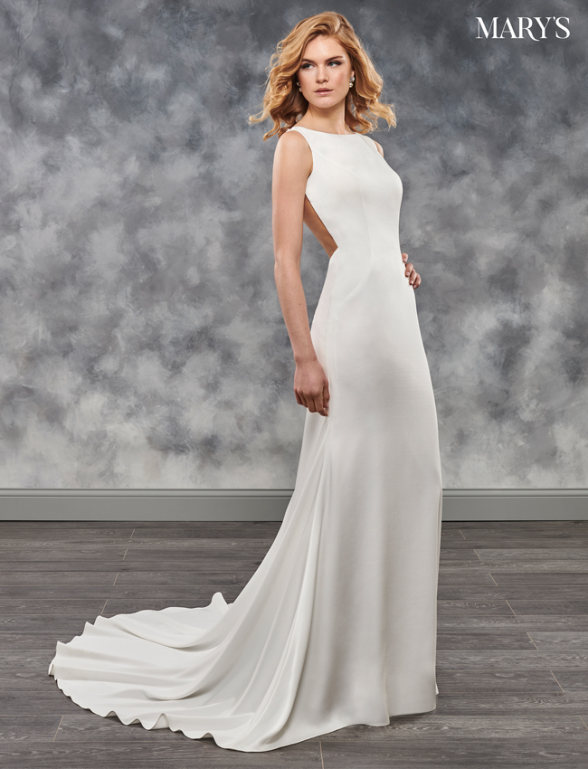 Ivory Color Bridal Dresses - Style - MB2025